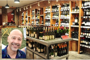 Luis Ortega, owner of Stellar Wine Shop, wrote in a proposal that the decor could look similar to the wine shop pictured.