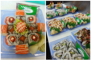 "The ""Taste of North Avenue"" Summer Kickoff party at Free Range Office will include sushi from Walgreen's Upmarket Cafe."