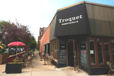 Troquet has been shuttered since April; co-owner Nicole Outrequin Quaisser had no comment on plans for the Ravenswood restaurant.