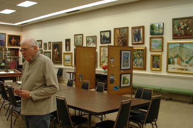 Some 600 pieces of art are part of the little-known Vanderpoel Art Collection. Sid Hamper, president of the association dedicated to preserving the artwork, has chosen 186 of the most notable pieces to put on display at Ridge Park.
