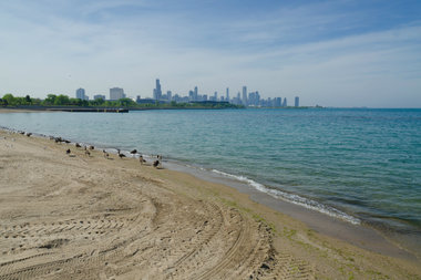 The CTA's seasonal service to 31st Street Beach runs on weekends and holidays throughout the summer.