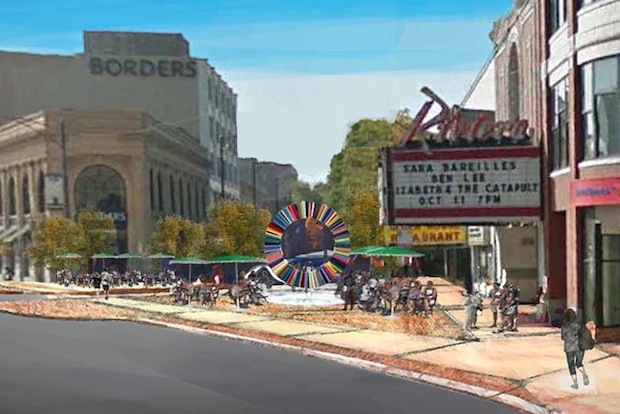 The $6 million streetscape plan is scheduled to start construction next year.