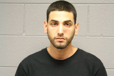 A ring stolen by Anibal Rodriguez, 22, had to be cut off his girlfriend's finger by the Fire Department after he got caught, prosecutors said.