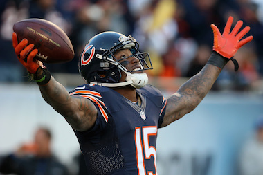 Chicago Bears wide receiver Brandon Marshall