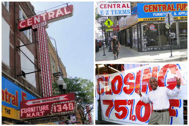 Central Furniture Leaving Wicker Park After 65 Years On Furniture