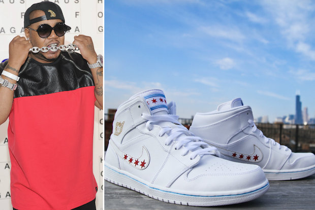Special shoes were created for Chicago rapper Twista for the upcoming Sole Expo, a national sneaker show taking place in Pilsen.