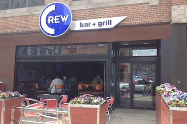 Crew Bar & Grill, 4804 N. Broadway