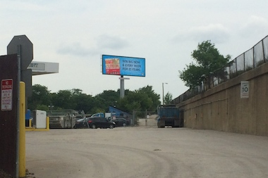 Five new massive electronic billboards, like this one at Wilson and Lamon avenues, were approved over the objections of Ald. John Arena (45th), who has repeatedly said the signs will diminish the quality of life in Jefferson Park and Gladstone Park.