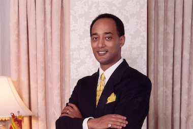 Ethiopian Prince Ermias Sahle Selassie will visit Hyde Park on Friday and Sunday to sign books and talk about Ethiopian royalty.