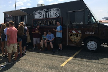 The TGI Fridays food truck in Minneapolis. It's coming to Midsommarfest in Andersonville Friday and Saturday.