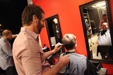 Blanca's Salon is offering free cuts for dads on Wednesday. File photo.