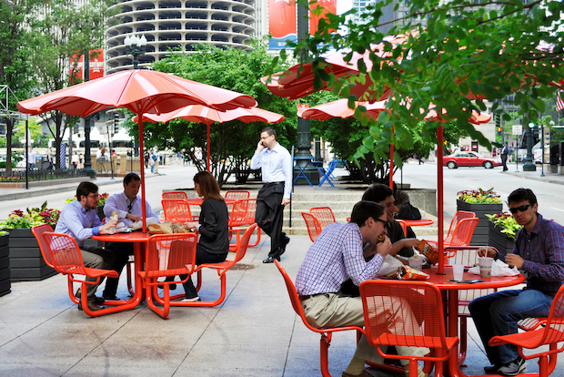 Chicago will launch its #CitySeats campaign and reopen Pritzker Park.
