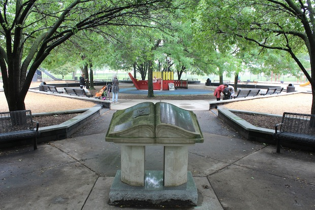 Neighbors are trying to form a park advisory council for Harold Washington Park.