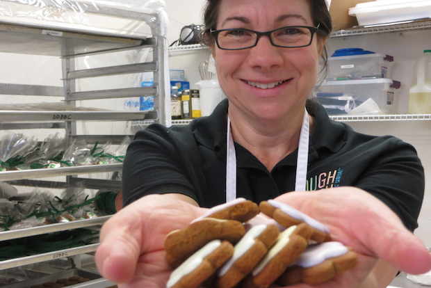 Bucktown's Dough Dough Bird Baking Company makes gingerbread for all seasons.