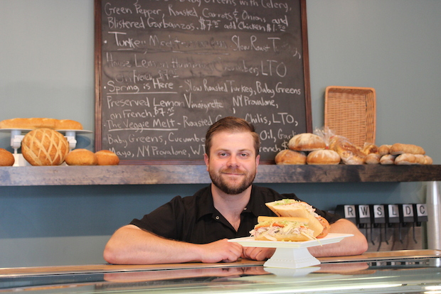 Brian Furey has been working on updating the menu at UpperCrust in West Town.