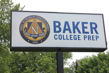 Baker College Prep in South Chicago opened August 2013.
