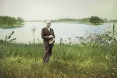 """Jens Jensen The Living Green"" will screen for free in Millenium Park next week."