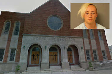 "Jessie White allegedly tried to kill a young mother as she walked with her daughter in front of St. Pancratius Church in Brighton Park because they looked happy ""and it made him angry,"" he allegedly told authorities."