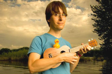 Grammy-nominated singer-songwriter Justin Roberts will perform live during a family yoga workshop at Bloom Yoga.