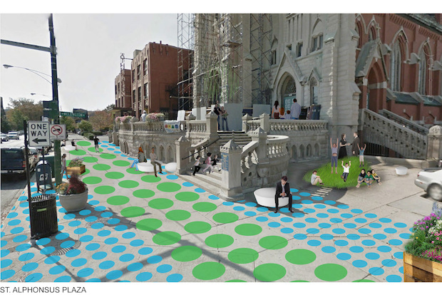 Small projects over the next three years will beautify a stretch of Lincoln between Belmont and Diversey.