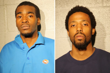 Marquise Boyd (l.), 23, of the 300 block of East 50th Street and Haili Bernard, 28, of the 2300 block of North Milwaukee Avenue were both charged with robbery.