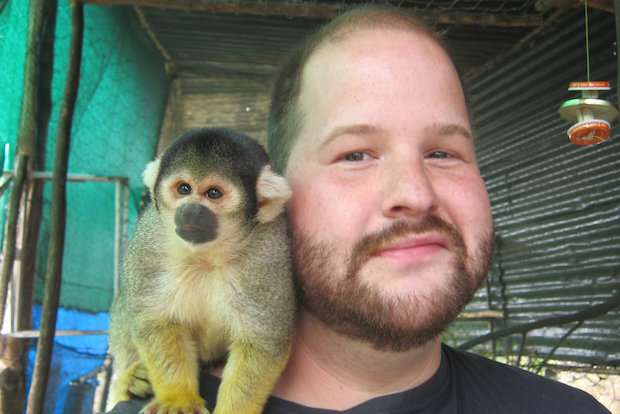 Albany Park's Mike Freiheit spent a year at a primate refuge cooking for monkeys.