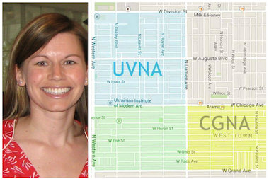 Liz Kuhn is among a group of neighbors spearheading an effort to create a new community group in West Town.