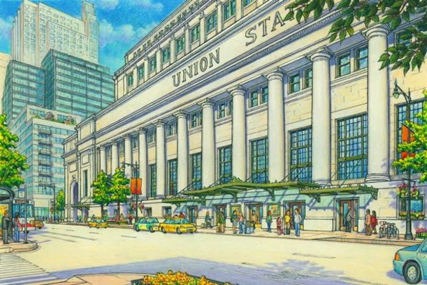 The Midwest High Speed Rail Association is lobbying for cosmetic changes as plans to redesign Union Station move forward.