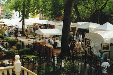 The Old Town Art Fair is celebrating its 69th year this weekend.