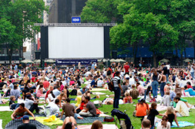 Movies in the Parks are a neighborhood staple in the summers.