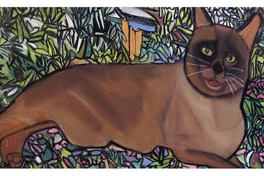 Project Onward, a group of developmentally disabled artists, will create portaits of pets at a weekend picnic.