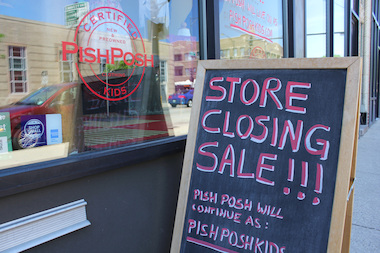 Pish Posh, 3950 N. Southport Ave., is closing June 15.