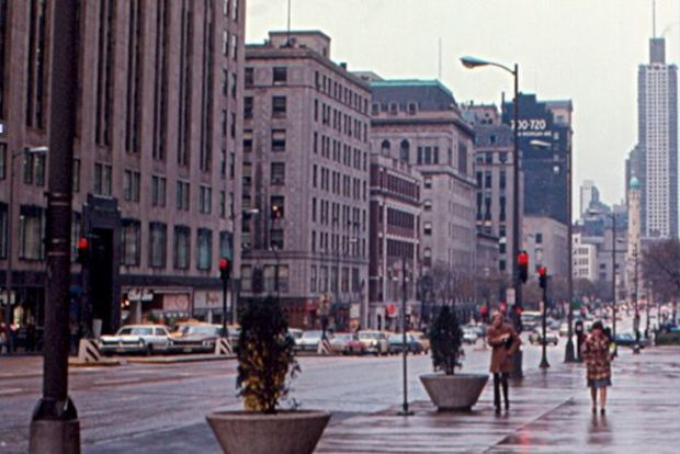 Before the Beautification Awards raised the stakes for streetscapes, Michigan Avenue's decorations were sparse.