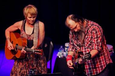 "Tickets still remain for Shawn Colvin and Steve Earle's musical collaboration, ""Songs and Stories, Together Onstage."""