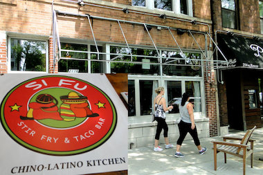 Si Fu Chino Latino Kitchen offers stir-fried rice and tacos. The eatery plans to open soon at 2116 W. Roscoe St. in Roscoe Village.