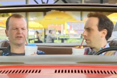 "Sonic Drive-In's iconic ""Two Guys"" are coming to Uptown June 21."