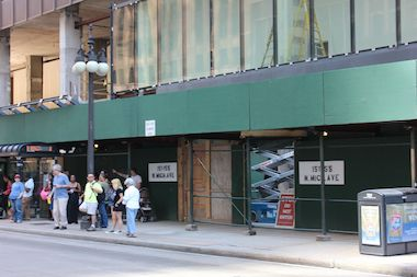The future home of a Protein Bar at 151 N. Michigan Ave.