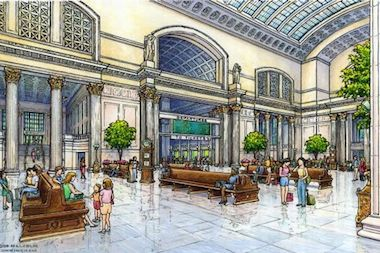 As the Chicago Department of Transportation moves forward with plans to seek funding for an overhaul of Union Station, a transit activist group is lobbying for additional improvements to be tacked on to the plan.