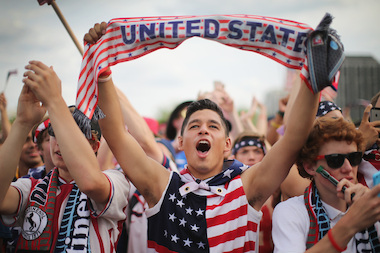 DNAinfo Chicago reporters will be covering U.S. vs. Germany World Cup action live from DANK Haus in Lincoln Square.