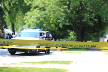 Daniel Jones, 30, of the 4100 block of West Wolcott Street, was pronounced dead at 5:22 p.m. Tuesday.