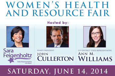 The third annual women's health and resource fair includes posture screenings, raffle prizes and snacks.