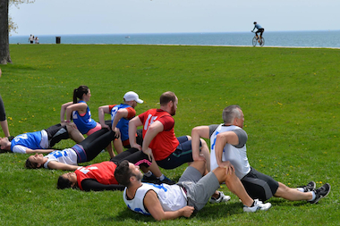 The Youtside Fitness Club workout classes feature a variety of skill levels and a social element to the class.