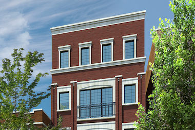 Developers hope to build three- and four-bedroom condos at 3849 N. Southport Ave.