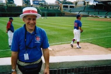 "Former Wrigley Field usher Bruce Bohrer has written a book: ""Best Seat In The House: Diary Of A Wrigley Field Usher."""