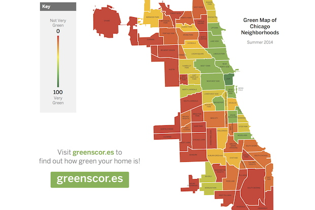 How Green Is Your Neighborhood? New App Reveals Some ...