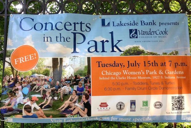 Family Friendly Free Concert In Women 39 S Park And Gardens Tuesday South Loop Dnainfo Chicago