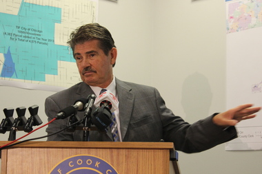 Cook County Clerk David Orr has argued against electing and voting to retain judges.