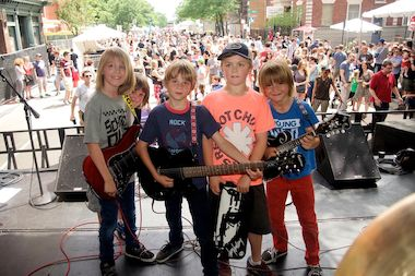 "Cowboy Jesus & The Sugar Bums will be headlining ""Wicker Park Fest Kids"" portion on Saturday."