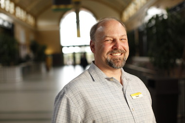 Dave Bernier is Lincoln Park Zoo's general curator. He has worked at the zoo since 1989.