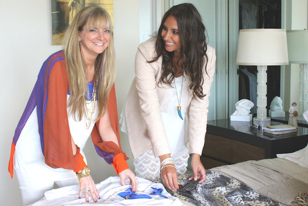 Get where you're going in style with help from fashionistas Debbie Kahn and Emily Simon of Deco.